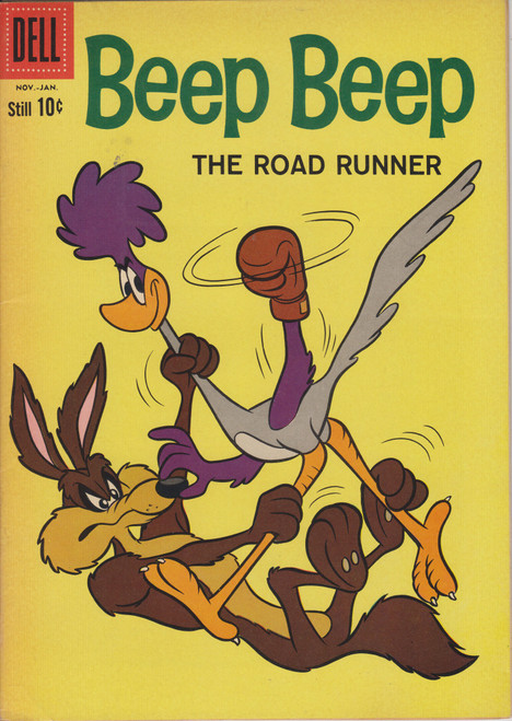 Dell Publishing Vol. 1 Beep Beep The Road Runner #7 Comic Book [Fine]