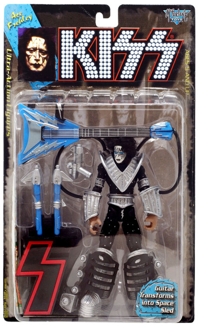 McFarlane Toys KISS Ace Frehley Action Figure [Guitar Transforms into Space Sled]