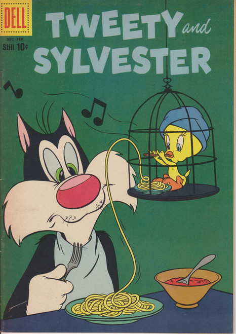 Dell Publishing Vol. 1 Tweey & Sylvester #27 Comic Book [Fine]