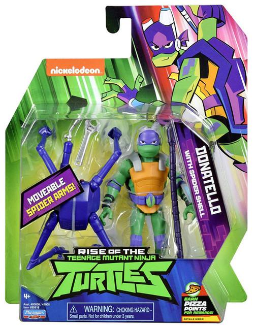 Teenage Mutant Ninja Turtles Nickelodeon Rise of the TMNT Donatello Action Figure [Spider Shell]