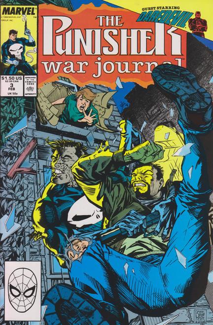 Marvel Comics The Punisher War Journal #3 Comic Book