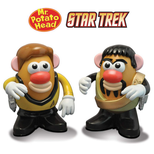 Mr. Potato Head Star Trek Captain James T. Kirk and Klingon Kor 2-Pack