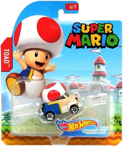Hot Wheels Super Mario Toad Diecast Car [6/7]