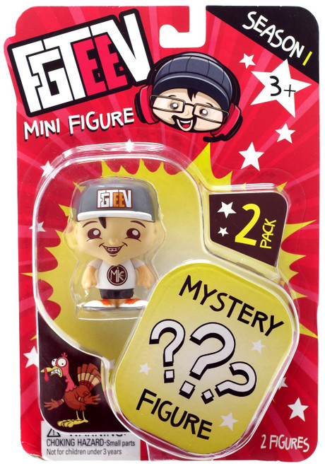 FGTeeV Season 1 Mike & Mystery Action Figure 2-Pack