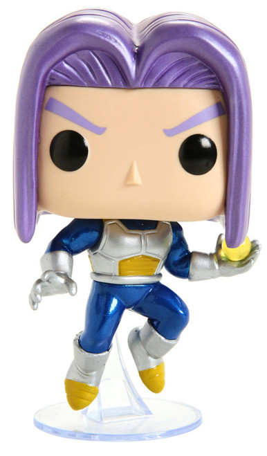 Funko Dragon Ball Z POP! Animation Future Trunks Exclusive Vinyl Figure #639 [Metallic Chase]