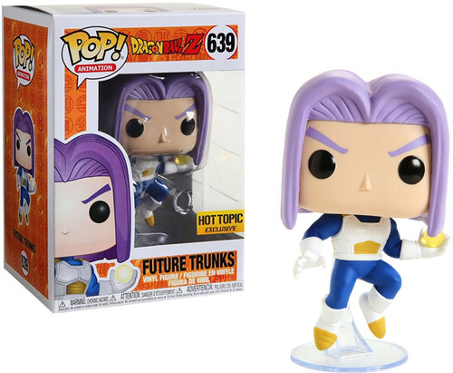 Funko Dragon Ball Z POP! Animation Future Trunks Exclusive Vinyl Figure #639 [Purple Hair]