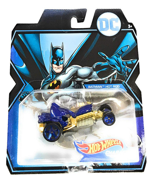 Hot Wheels Character Cars DC Batman Hot Rod Die-Cast Car
