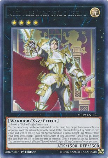 Yugioh Until Noble Arms are Needed Once Again Prismatic Secret MP19 Near Mint