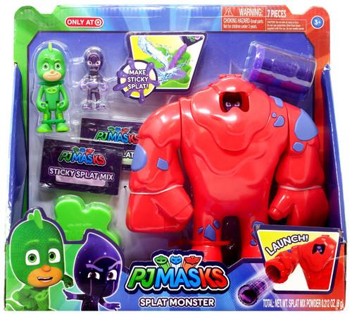 Disney Junior PJ Masks Splat Monster Exclusive Vehicle & Figure