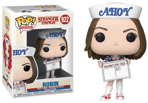 Funko Stranger Things POP! TV Robin Buckley Vinyl Figure [Scoops Ahoy Uniform]