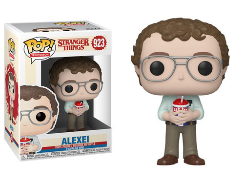 Funko Stranger Things POP! TV Alexei the Russian Vinyl Figure #923