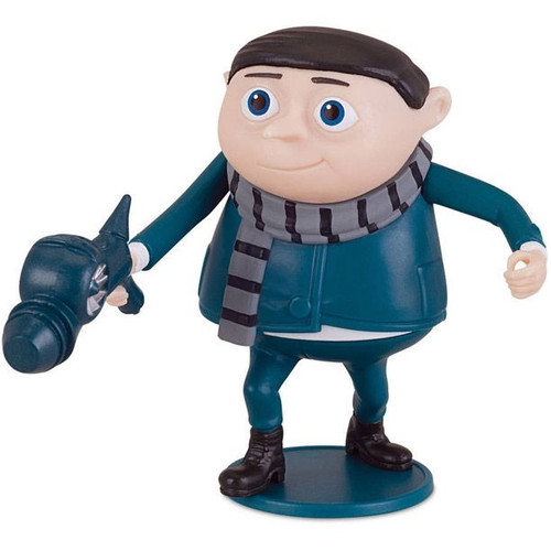 Despicable Me Minions Movie Young Gru With Freeze Gun Deluxe Action Figure