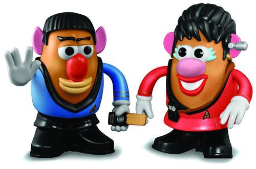 Star Trek Cmmdr. Spock & Lt. Uhura Mr. Potato Head 2-Pack