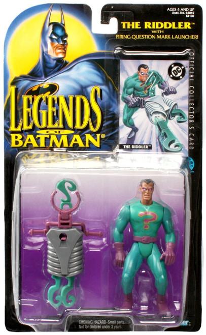 Legends of Batman The Riddler Action Figure [Moderate shelf wear]