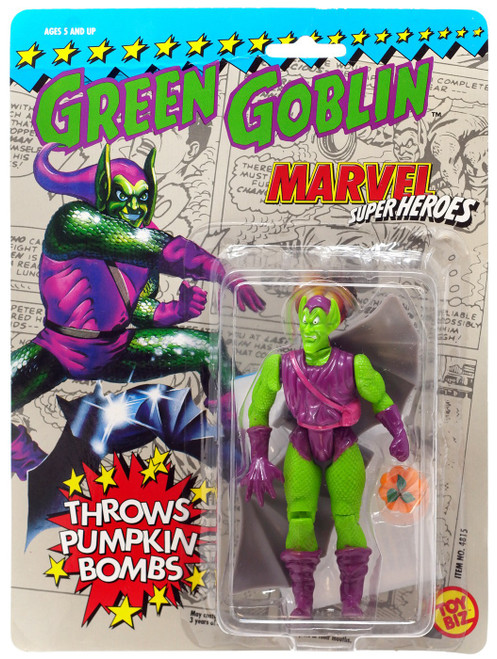 Marvel Super Heroes Green Goblin Action Figure [Throws Pumkin Bombs]