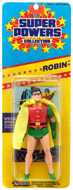 DC Batman Super Powers Collection Robin Action Figure