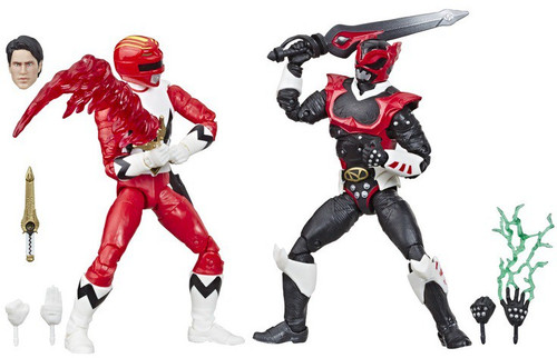 Power Rangers Lightning Collection Lost Galaxy Red Ranger & In Space Psycho Red Ranger Exclusive Action Figure 2-Pack