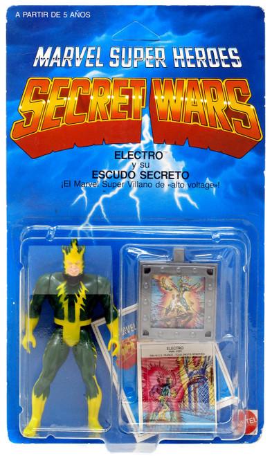 Marvel Super Heroes Secret Wars Electro Action Figure
