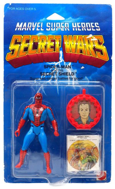 Marvel Super Heroes Secret Wars Spider-Man Action Figure [Secret Shield]
