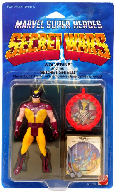 Marvel Super Heroes Secret Wars Wolverine Action Figure