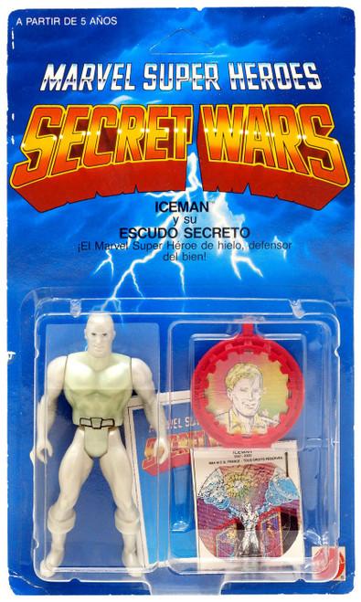 Marvel Super Heroes Secret Wars Iceman Action Figure