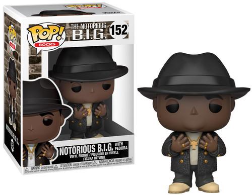 Funko POP! Rocks Notorious BIG (Biggie Smalls) Vinyl Figure #152