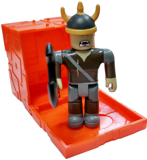 Roblox Series 6 Summoner Tycoon: Viking 3-Inch Mini Figure [with Orange Cube and Online Code Loose]
