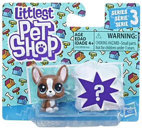 Littlest Pet Shop Series 3 Roxie McTerrier & Mystery Figure Mini Figure 2-Pack