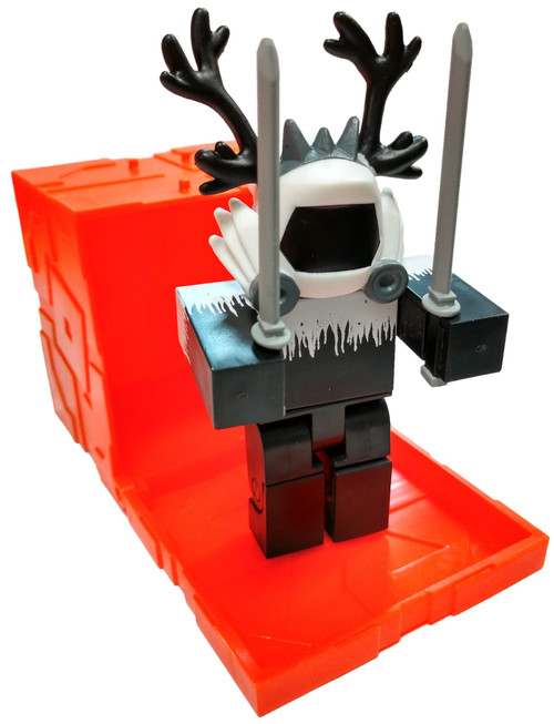 Roblox Series 6 ColdDeveloper 3-Inch Mini Figure [with Orange Cube and Online Code Loose]