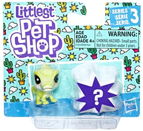 Littlest Pet Shop Series 3 Gavin Chamelle & Mystery Figure Mini Figure 2-Pack