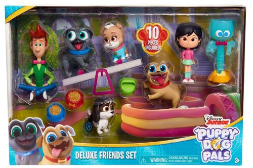 Disney Junior Puppy Dog Pals Deluxe Friends Set Figure 7-Pack [Version 2]