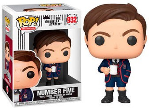 Funko Umbrella Academy POP! TV Number Five Vinyl Figure #932 [Regular Version, No Mask]