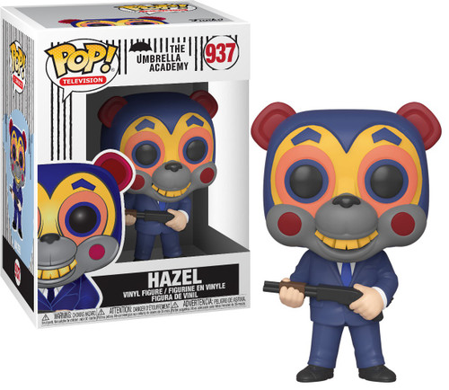 Funko Umbrella Academy POP! TV Hazel Vinyl Figure #937 [with Mask]