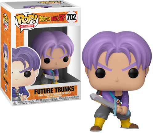 Funko Dragon Ball Z POP! Animation Future Trunks Vinyl Figure #702 [with Sword]