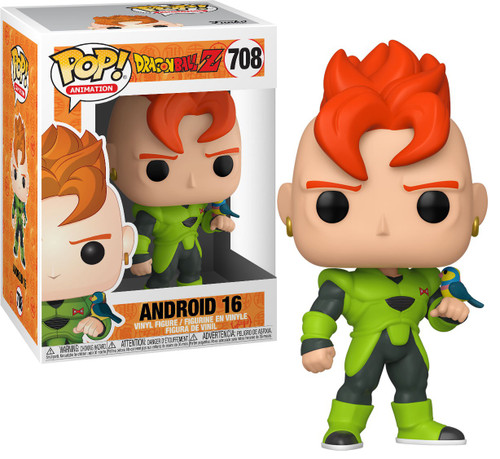 Funko Dragon Ball Z POP! Animation Android 16 Vinyl Figure