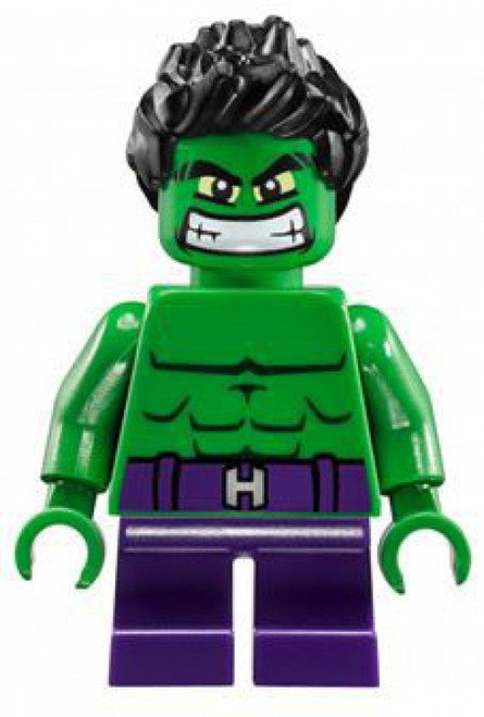 LEGO Marvel Super Heroes Avengers Age of Ultron Hulk Minifigure [Mighty Micros Loose]
