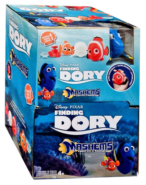 Disney / Pixar Finding Dory Mash'Ems Mystery Box [35 Packs]