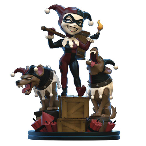 DC Q-Fig Remastered Harley Quinn & Hyenas Diorama Figure (Pre-Order ships November)