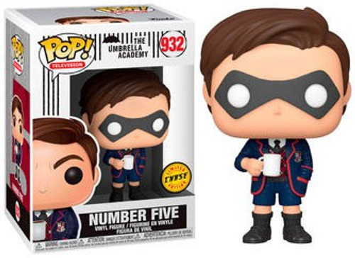 Funko Umbrella Academy POP! TV Number Five Vinyl Figure #932 [With Mask, Chase Version] (Pre-Order ships January)