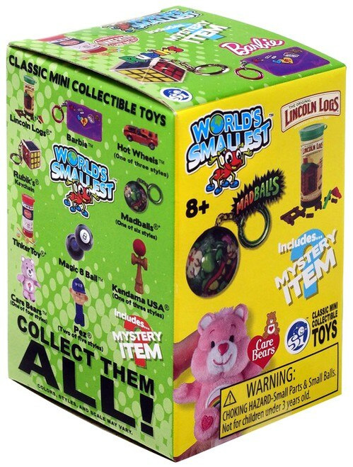 World's Smallest Classic Mini Toys Series 2 Mystery Pack