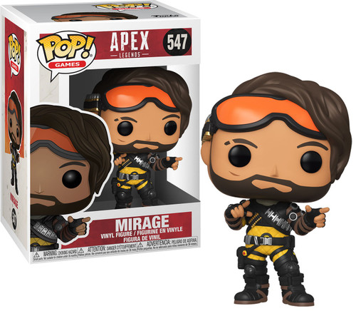 Funko Apex Legends POP! Games Mirage Vinyl Figure #547