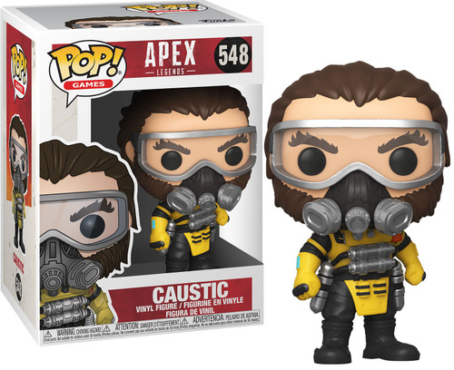 Funko Apex Legends POP! Games Caustic Vinyl Figure #548