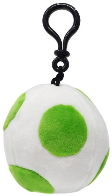 Nintendo Mario Kart Mocchi Mocchi Yoshi Egg Clip On Plush