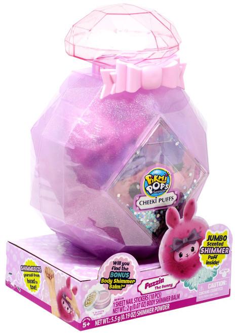 Pikmi Pops Surprise! Series 5 Cheeki Puffs LARGE Fuzzin The Bunny Plush