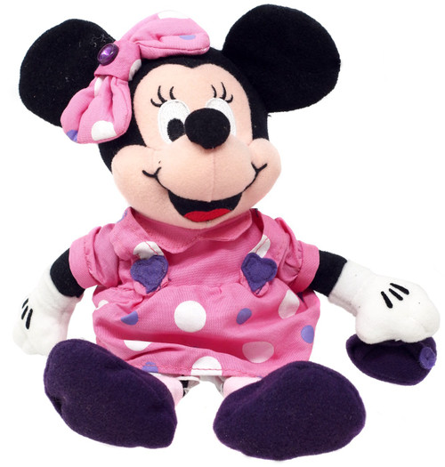 Disney Mickey Mouse Birthstone Minnie Mouse Exclusive 7.5-Inch Plush [February]