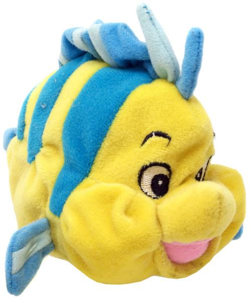 Disney The Little Mermaid Flounder Exclusive 7-Inch Mini Bean Bag Plush