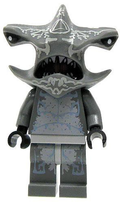 LEGO Atlantis Hammerhead Shark Warrior Minifigure [Loose]
