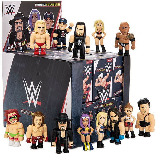 WWE Wrestling Collectible Vinyl Mini Series WWE 3-Inch Mystery Box [24 Packs]