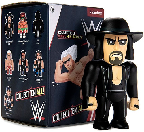 WWE Wrestling Collectible Vinyl Mini Series WWE 3-Inch Mystery Pack [1 RANDOM Figure!]