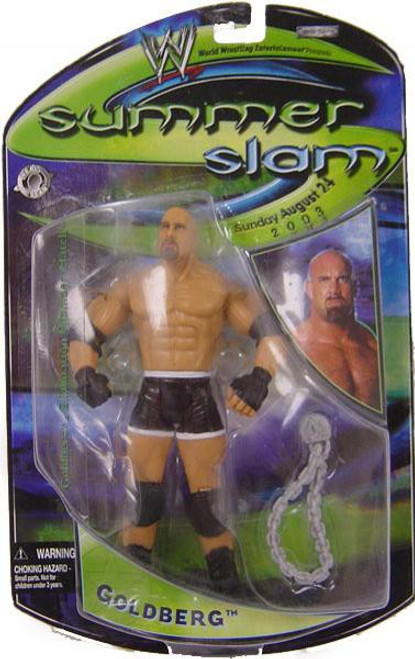 WWE Wrestling Summer Slam Goldberg Action Figure